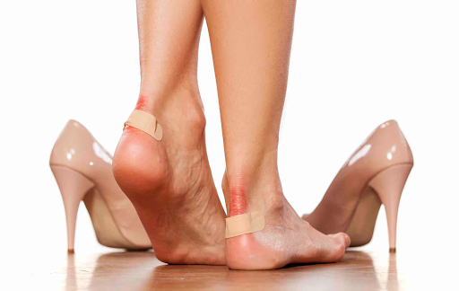 foor problems caused by ill-fitting shoes